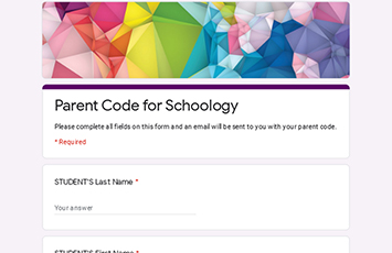 Schoology website screen shot