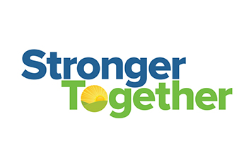 Lexington District One Stronger Together logo